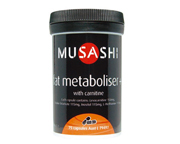 MUSASHI FAT METABOLISER CON CARNITINA 990 MG 75 CAPS